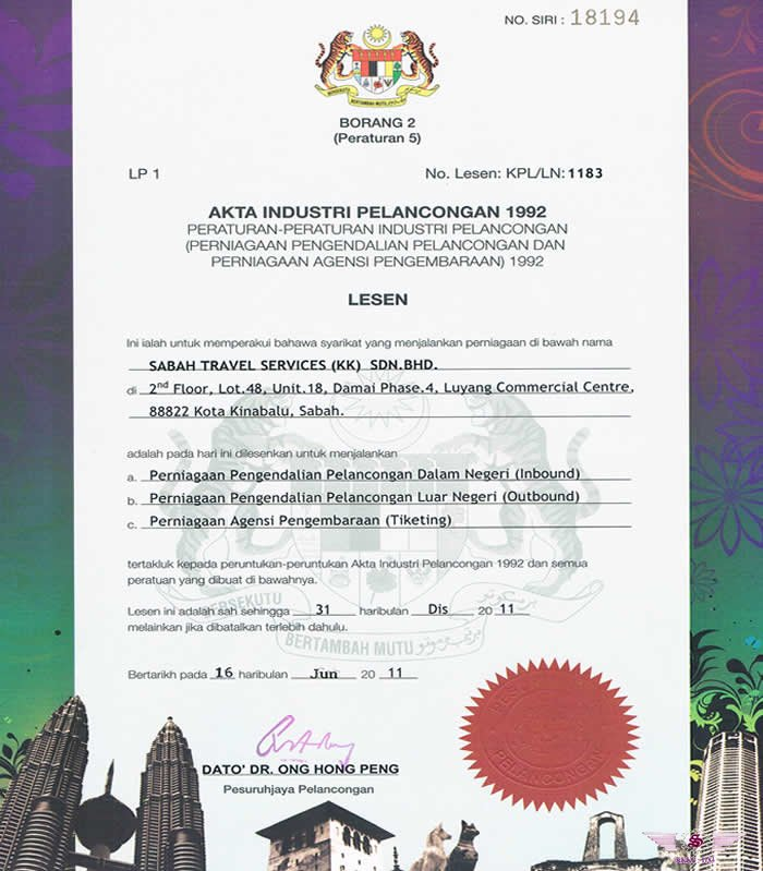 Sabah Travel Services