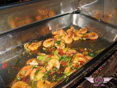 沙巴杂菜饭-虾